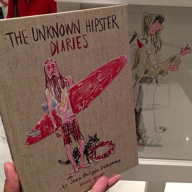 THE UNKNOWN HIPSTER DIARIES by Jean Philippe Delhomme