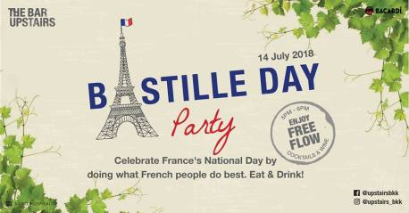 Bastille Day Party - Le 14 Juillet!