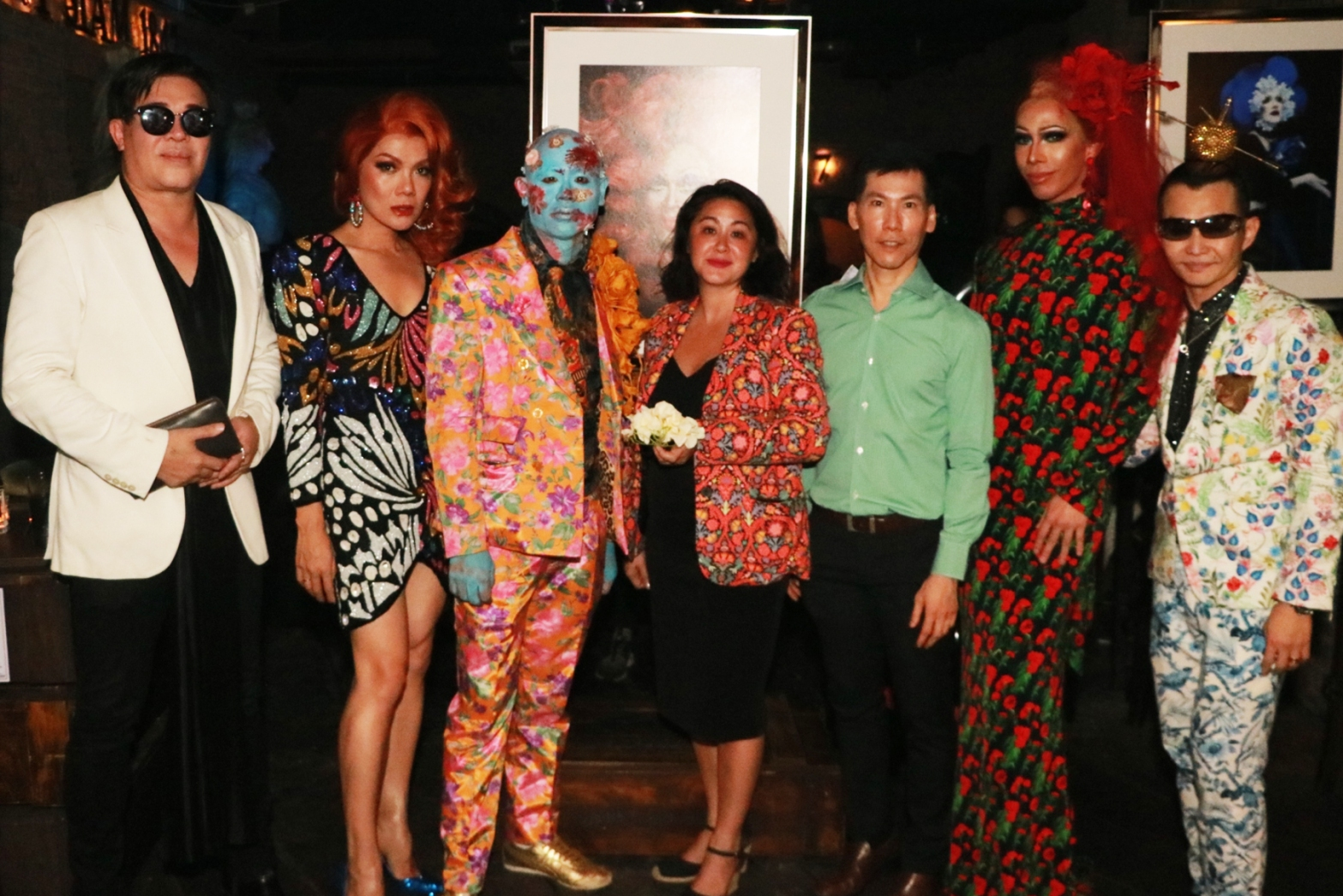"""Drag-Queens Blossom"" @ Maggie Choo's"
